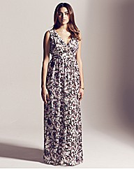 Project D Lincoln Print Maxi Dress 54in