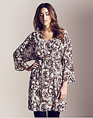 Project D Empire Print Kaftan Tunic