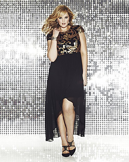 Lovedrobe Sequin Detail Dress