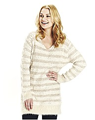 Angel Ribbons Josie V Neck Jumper