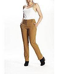 Timeout Straight Leg Twill Trousers