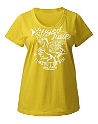 Timeout Print T Shirt