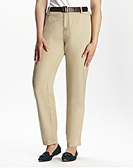 Spirit & Sands Belted Chino Trousers