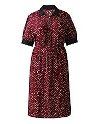 Timeout Spot Print Dress