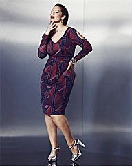 Anna Scholz Print Dress