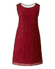 Rise Myrissa Beaded Shift Dress