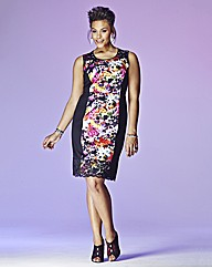 Grazia Floral Print Pencil Dress