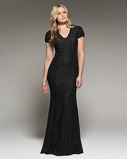 Project D London Olympia Lace Maxi Dress