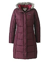 Regatta Padded Coat with Fur Trim Hood