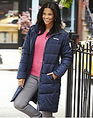 Regatta Padded Coat with Fur Trim Hood
