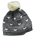 Angel Ribbons Orla Knitted Heart Hat