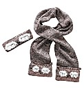 Angel Ribbons Hannah Headband &Scarf Set
