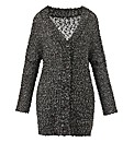 Luxe Sequin Knitted Oversized Cardigan
