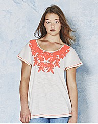Angel Ribbons Dakota Print Jersey Top