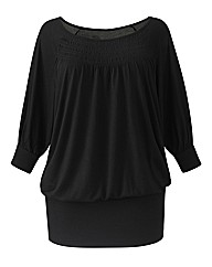 Jeffrey & Paula Ruch Neck Top