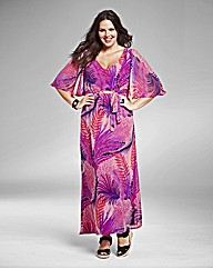 Jeffrey & Paula Print Maxi Dress