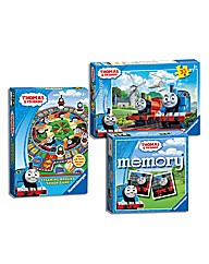 Thomas & Friends Puzzle and Game Pack