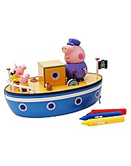 Peppa Pigs Bathtime Boat