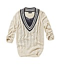 Joe Browns Dropped V Cricket Jumper