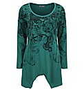 Joe Browns Eye Catching Emerald Tunic