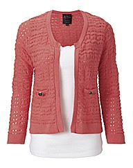 JOE BROWNS Cute Coral Cardigan