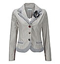 Joe Browns Fab Ticking Stripe Jacket