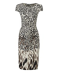 Steilmann Animal-print Jersey Dress