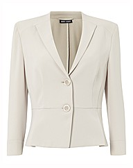Gerry Weber Button Up Soft Peplum Jacket