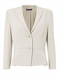 Gerry Weber Button Up Soft Peplum Jacket