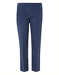 Gerry Weber Jacquard Straight Trousers