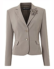 Gerry Weber Crepe Corsage Trim Jacket