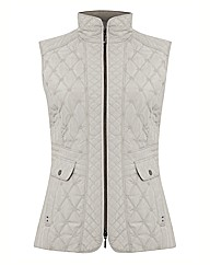 Gerry Weber Quilted Zip Up Gilet