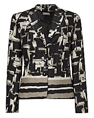 Gelco Abstract Printed Jacket