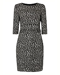 Gerry Weber Jacquard Animal Print Dress
