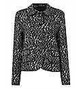 Gerry Weber Jacquard Button Up Jacket