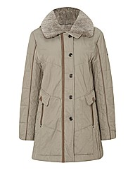 Gerry Weber Faux Fur Padded Coat