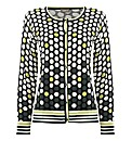 Gelco Polka Dot Knit Cardigan