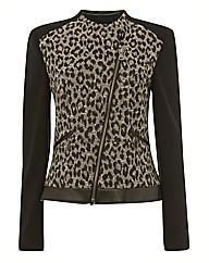 Betty Barclay Leopard Jacquard Jacket