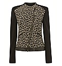 Betty Barclay Leopard Jacquard Jacket