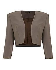 Vera Mont Crepe Bolero Jacket