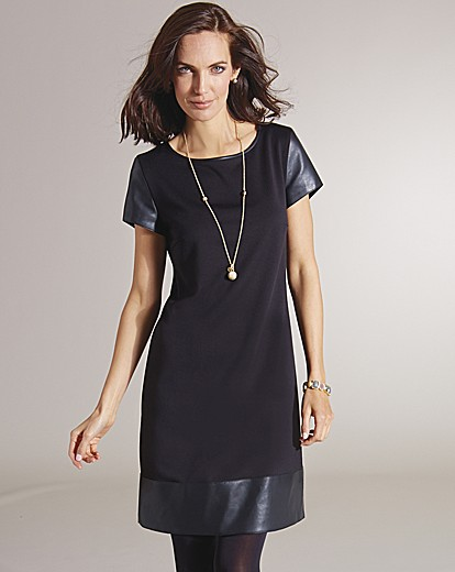 Betty Barclay Faux Leather Trim Tunic
