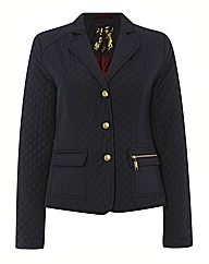 Betty Barclay Press Stud Quilted Jacket