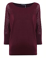 Betty Barclay Crochet Sleeve Knit Jumper