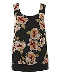 Chesca Georgette Sleeveless Top