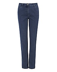 Michele Magic Straight Leg Jean 29in