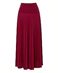 Apanage Pleated Jersey Skirt