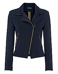 Apanage Biker-style Jersey Jacket