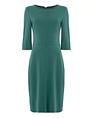 Apanage Ponte Jersey Mid Length Dress