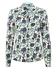 G&O Cotton Floral Printed Shirt