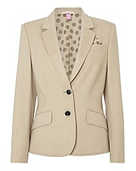 Basler Button Up Wool Blazer